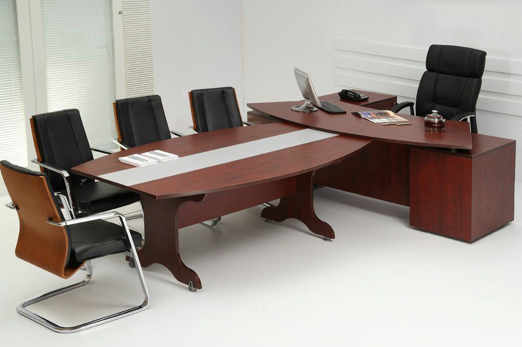 میز مدیریتی و میز کنفران س تکتا پارتیشن